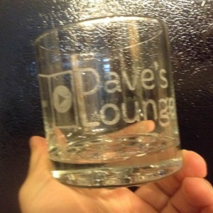 Dave's Lounge Glass