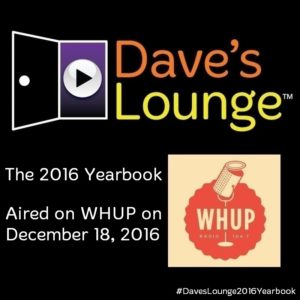Dave's Lounge 2016 Yearbook